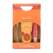 Pacifica Take Me There Tuscan Blood Orange Gift Set