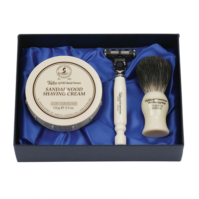 Taylor of Old Bond Street Sandalwood Luxury Gift Set