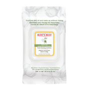 Burt's Bees Sensitive Facial Cleansing Towelettes with Cotton Extract 30 Pack
