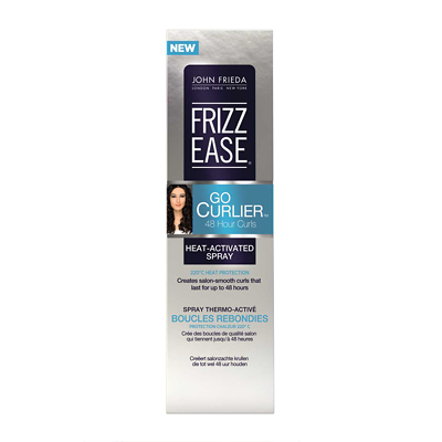 John Frieda Frizz Ease Go Curlier Heat Activated Spray 100ml