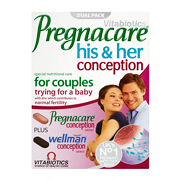 Vitabiotics Pregnacare His & Hers Conception 60 Tablets