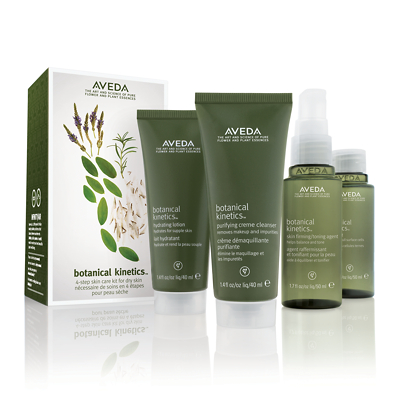 Aveda Botanical Kinetics Skin Care Starter Set for Dry/Normal Skin