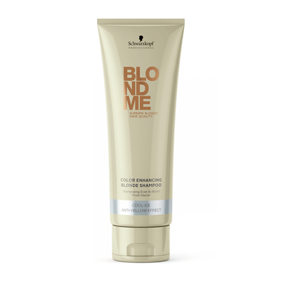 Schwarzkopf Professional BlondMe Color Enhancing Blonde Shampoo Cool-Ice 250ml