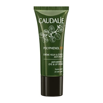 Caudalie Polyphenol C15 Anti-Wrinkle Eye & Lip Cream 15ml