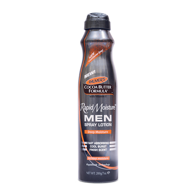 Palmer's Cocoa Butter Formula Rapid Moisture Spray Lotion for Men 200ml