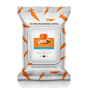 Yes To Carrots Nourishing Fragrance Free Gentle Cleansing Wipes x25