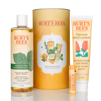 Burt's Bees Fabulously Fresh Collection