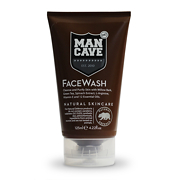 ManCave Grooming WillowBark FaceWash 125ml