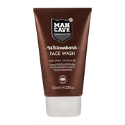 ManCave Natural Willowbark Face Wash 125ml
