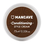 ManCave Natural Conditioning Style Cream Light Hold 75ml