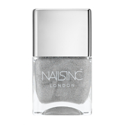 nails inc Electric Lane Holographic Top Coat 14ml