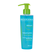 BIODERMA Sébium Purifying Cleansing Foaming Gel 200ml