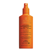 COLLISTAR Supertanning Moisturizing Milk Spray Face-Body SPF 15 200ml