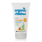 Green People Organic Children Sun Lotion SPF30 Scent Free 150ml