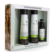 Macadamia Professional Weightless Moisture Trio with Comb