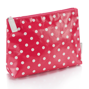Victoria Green Red Polka Dot Utility Bag
