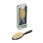 Kent Medium Soft White Bristle Cushion Brush - CSGM