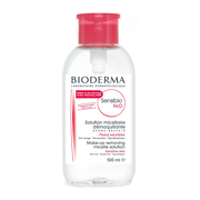 BIODERMA Sensibio H2O Make-up Removing Micelle Solution - Reverse Pump 500ml