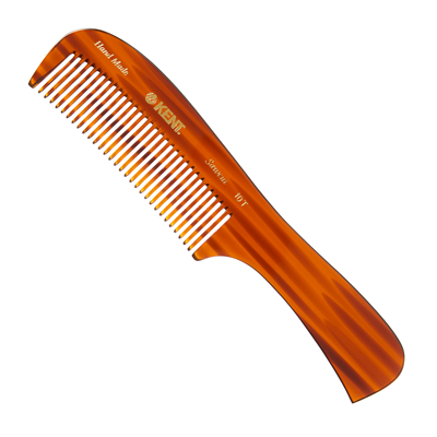 Kent Large Handled Rake Comb Thick Hair - 10T