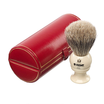 Kent Men's Travel Shaving Brush - BK4