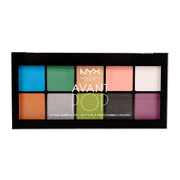 NYX Professional Makeup Avant Pop! Shadow Palette 15g
