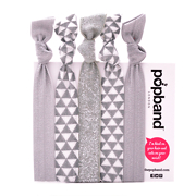 Popband London 'Icing Sugar' Hair Ties Multi Pack