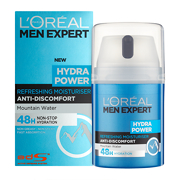 L'Oreal Paris Men Expert Hydra Power Refreshing Moisturiser 50ml