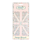 The Vintage Cosmetic Company Emery Boards -Pink Flag