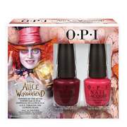 OPI Nail Lacquer - Alice In Wonderland Collection - Mad Hatter Duo Pack