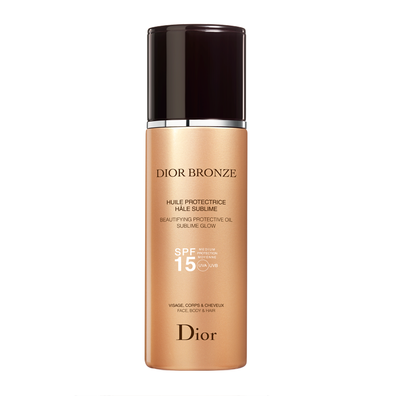 dior bronze protection solaire huile protectrice h le sublime spf 15 visage corps cheveux. Black Bedroom Furniture Sets. Home Design Ideas