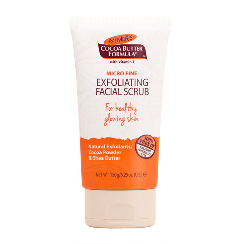 Exfoliating facial cream