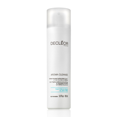 Decleor 3 In 1 Hydra Radiance Smoothing and Cleansing Mousse with Neroli Essential Oil 100ml