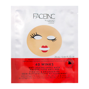 FACEINC by NAILSINC 40 Winks Anti-Ageing Sheet Mask - Firming & Brightening 25ml