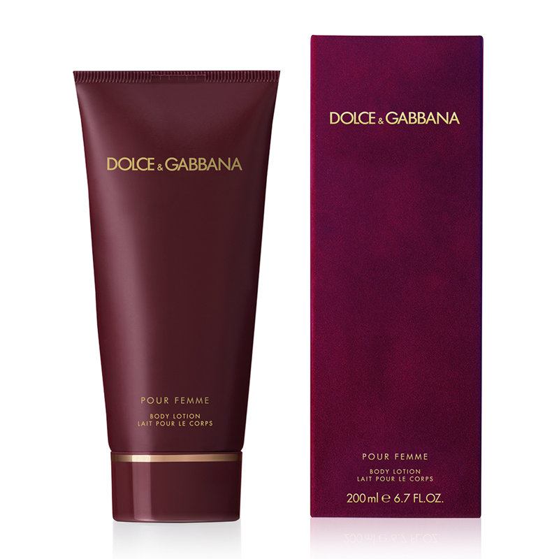 dolce gabbana pour femme body lotion 200ml feelunique. Black Bedroom Furniture Sets. Home Design Ideas