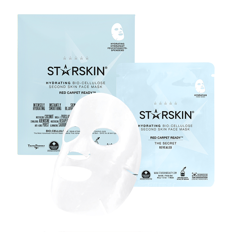 Risultati immagini per STARSKIN® Red Carpet Ready™ Coconut Bio-Cellulose Second Skin Hydrating Face Mask