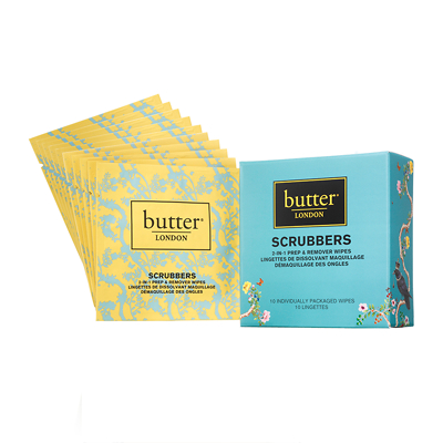 butter LONDON Nail Treatment Scrubbers