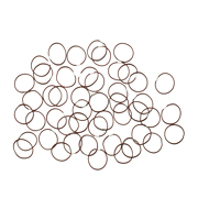 Hershesons Brown Small Bands 25 pcs
