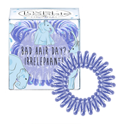 invisibobble The Traceless Hair Ring 3 Pack Circus Collection ORIGINAL Bad Hair Day? Irrelephant