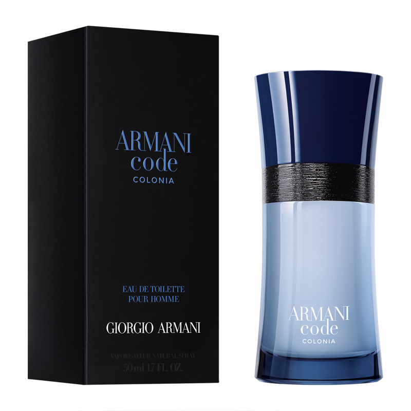 giorgio armani code colonia eau de toilette 50ml feelunique