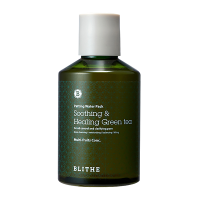 Blithe Patting Water Pack Soothing & Healing Green Tea 200ml