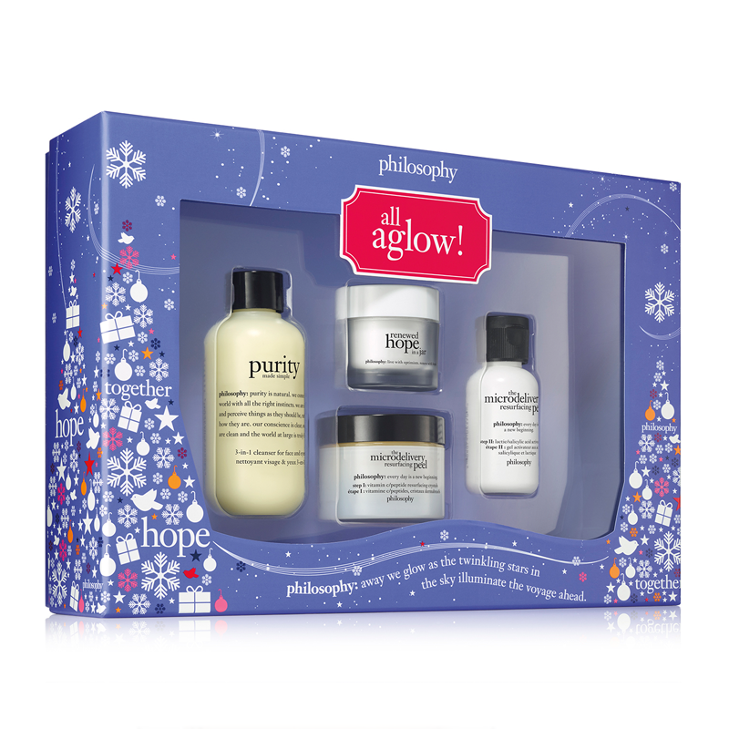 philosophy all aglow gift set - Feelunique