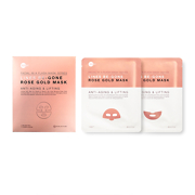 Skin Inc Facial In A Flash Lines Be-Gone Rose Gold Sheet Mask