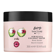 Being By Sanctuary Spa Hibiscus & Coconut Water Body Butter 300ml