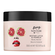 Being By Sanctuary Spa Water Lotus & Pomelo Body Butter 300ml