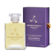 Aromatherapy Associates De-Stress Mind Bath & Shower Oil 55ml