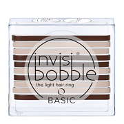 invisibobble(r) The Light Hair Ring 10 Pack BASIC Mocca & Cream