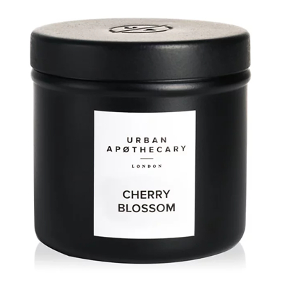 Urban Apothecary London Cherry Blossom Luxury Travel Candle 175g