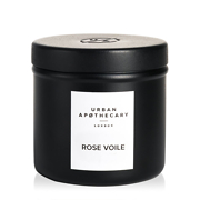 Urban Apothecary London Rose Voile Luxury Travel Candle 175g