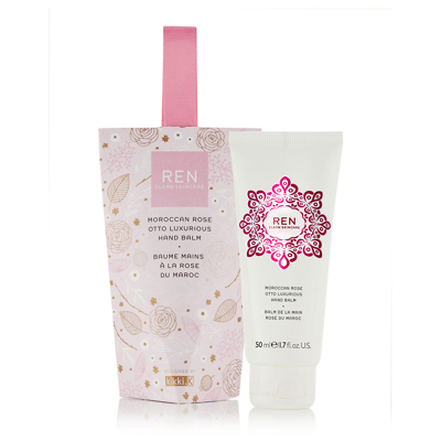 REN Moroccan Rose Hand Balm 50ml - Limited Edition