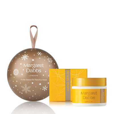 Margaret Dabbs Anti-Ageing Hand Serum Christmas Bauble